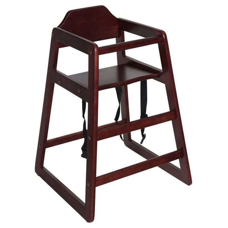 Stackable Wooden High Chairs For Restaurants