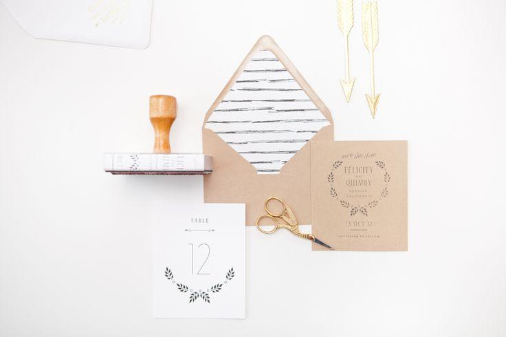 Wedding Invitation Designers - Mae Mae Paperie | Oh So Beautiful Paper