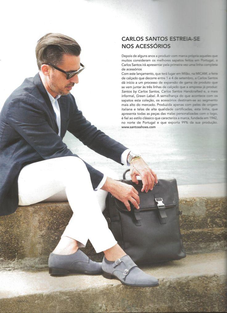 Carlos Santos na Revista 12. Carlos Santos featured at the Portuguese magazine Revista 12.