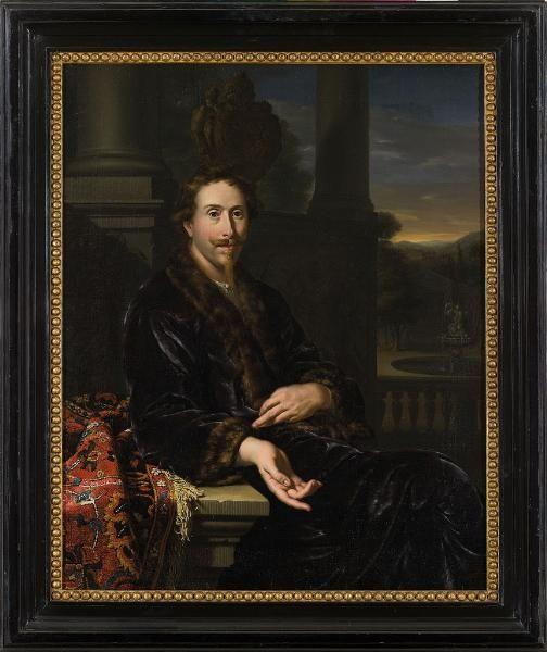 Ян Мирис, Jan van Mieris (1660 — 1690) — Willem Backer (1595-1652), (1682, Amsterdams Historisch Museum)