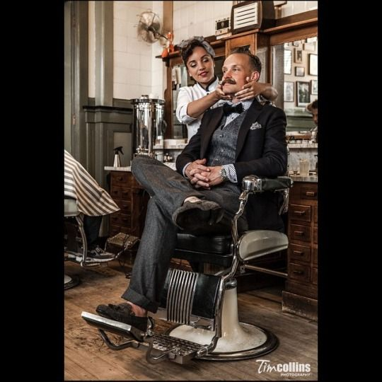 28 best Kick ASS Lady Barbers images on Pinterest | Barbershop ...