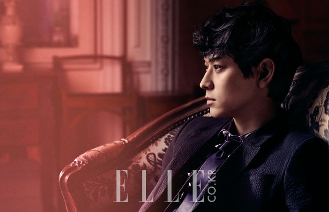 Kang Dong Won - Elle Magazine May Issue '13