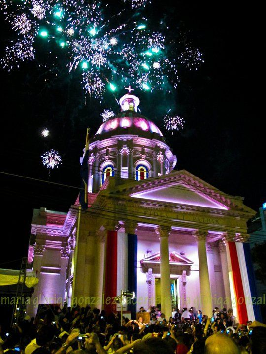 May 14th- Independence Day in Paraguay