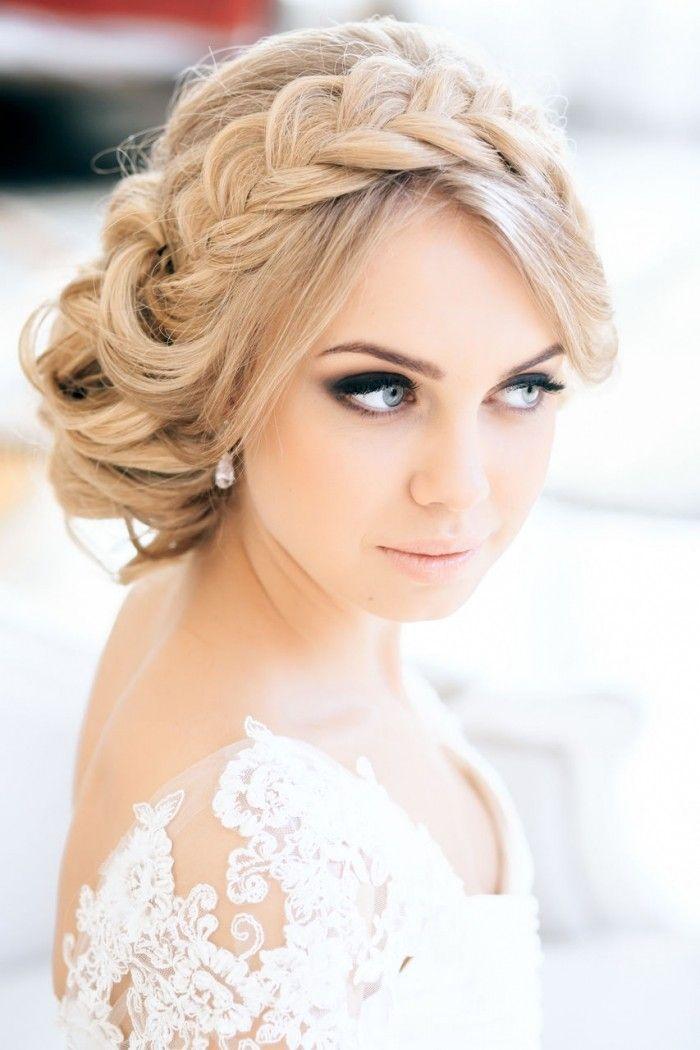 16 coiffures de mariée avec tresse