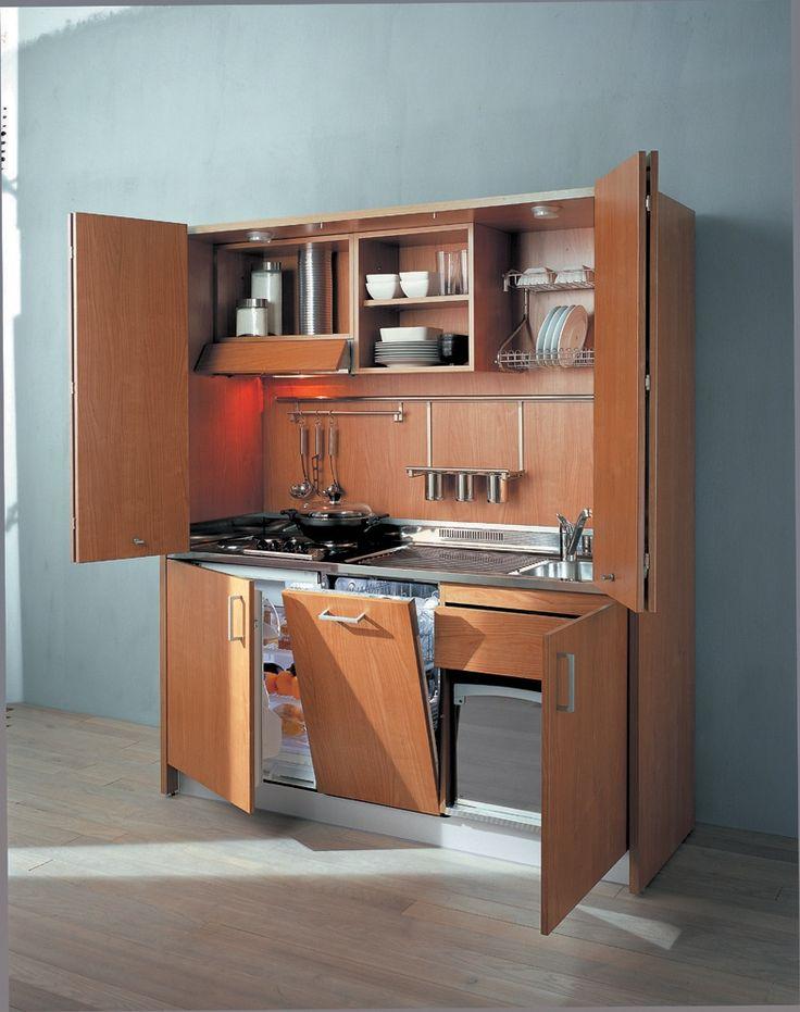 Italian Hideaway Kitchen With Dishwasher
