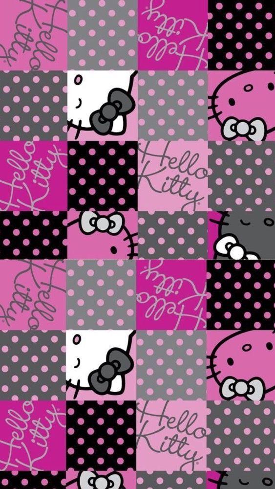 456 besten hello kitty wallpaper bilder auf pinterest. Black Bedroom Furniture Sets. Home Design Ideas