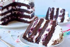 Egy csodálatos finom süti a Feketeerdő szelet, kocka