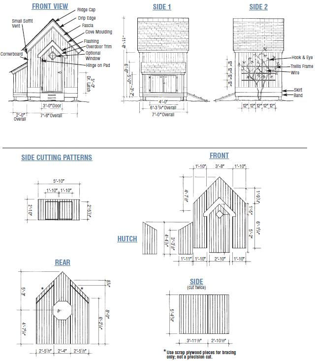 M s de 25 ideas incre bles sobre shed blueprints en for Jardin 4x6 shed