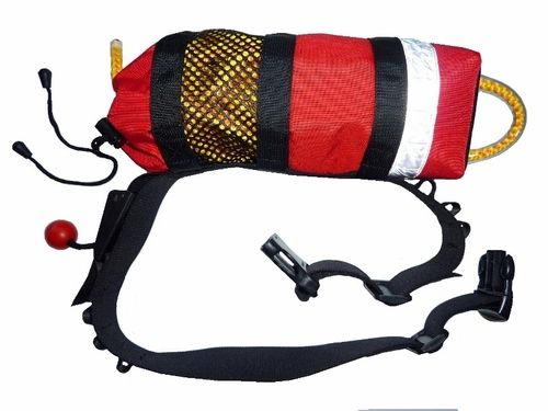 Quick Release throwbag for water rescues, swiftwater rescue gear. Buy online at Big Water