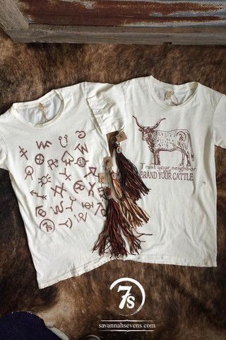 The Brand Your Cattle (t-shirt) – Savannah Sevens Western Chic