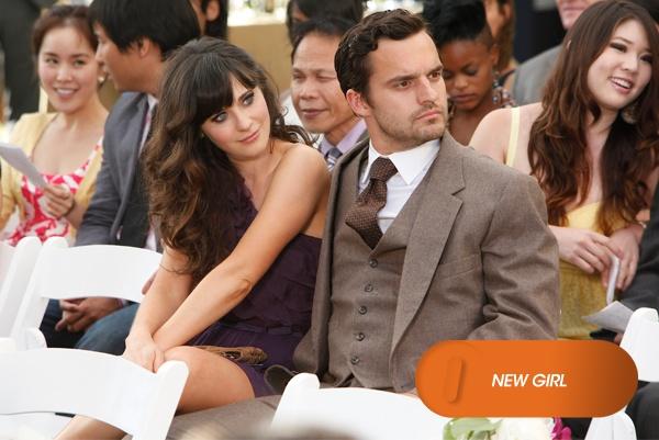 [DIVINAS COMÉDIAS] Nick, com medo de encontrar sua ex no casamento, pede a Jess para fingir ser sua namorada.  New Girl – Domingo, às 11h   #EuCurtoFOX Confira conteúdo exclusivo no www.foxplay.com