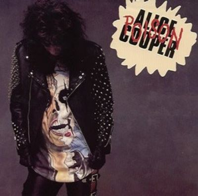 Alice Cooper Poison album cover