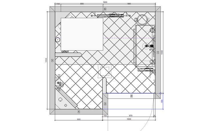 Badkamer schuin dak, passend op zwetslootstraat
