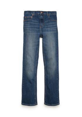 J. Khaki Boys' Basic Stretch Slim Jean Boys 8-20 - Medium Stone - 10 Slim