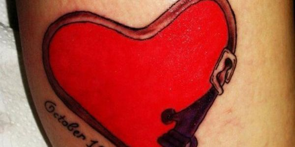 25 Awesome Heart Shaped Tattoo Designs