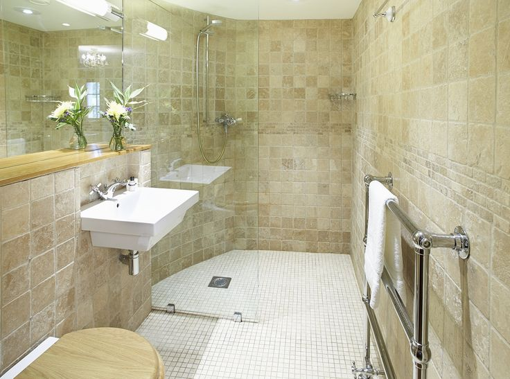 Here we have an ensuite wet room design which looks amazing.