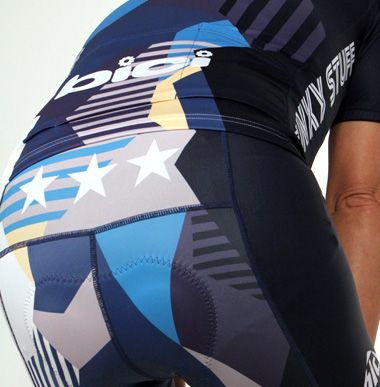Camouflage Blue-bici original cycle wear and order bicycle Jersey MADE IN JAPAN- bici.jp