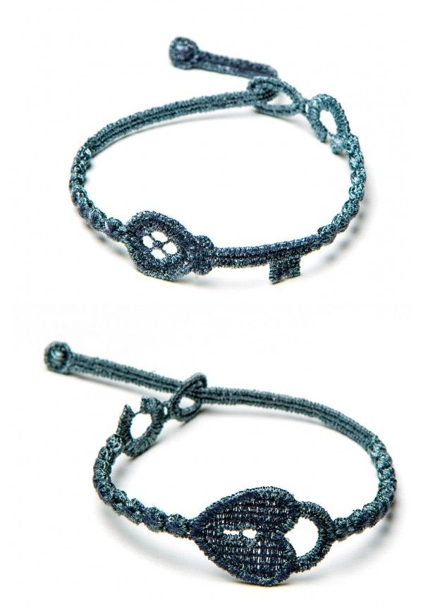 Cruciani Chiave Bracelet: comes in sets of lock and key!