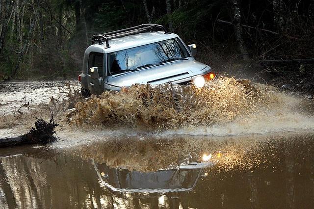 Toyota FJ Cruiser Off Road
