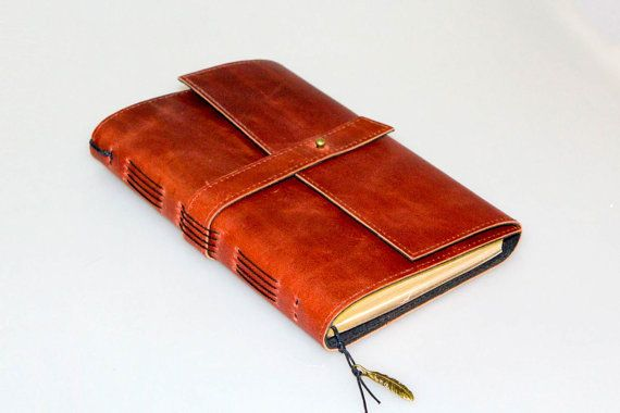 Notebook 5. Leather notebook. Leather от BazArtLeather на Etsy