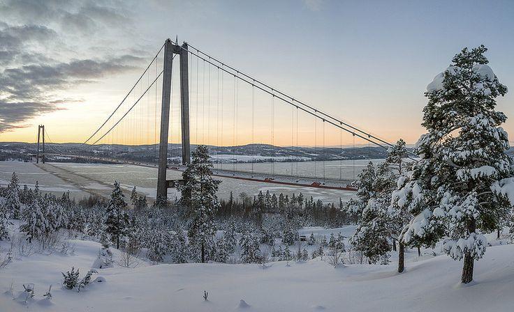 Höga kustenbron (=High Coast bridge.) - Sweden