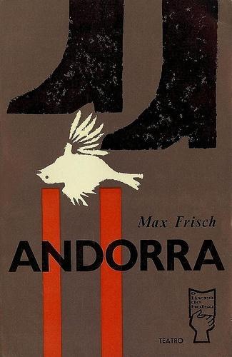 Andorra,Max Frisch Cover byJoão da Câmara Leme, 1961