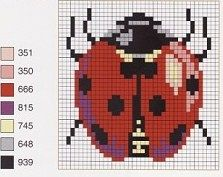Point de croix : ❤️*❤️ cross stitch.