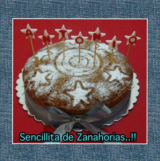 "Torta de Zanahorias  ""H-Bday"""