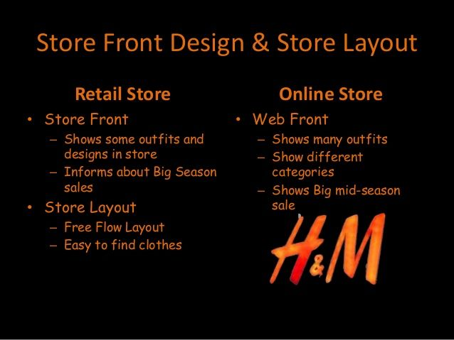 #H&M #Retail #Store #Layout #FreeFlow #Online #mafash14 #bocconi #sdabocconi #mooc #w5