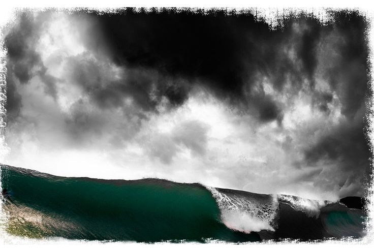 #Wave #beautiful #clouds #breaking #specialplace #imagosurf #awesome