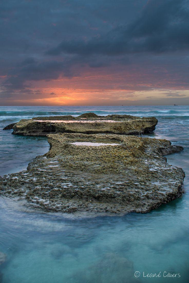 Seascape, sunrise, Hartenbos, South Africa