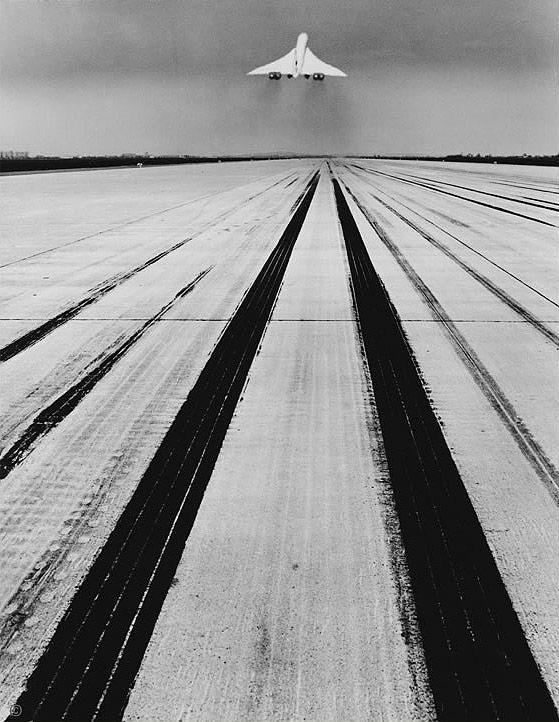 Jean Dieuzaide - Concorde, essai roulage, 1969