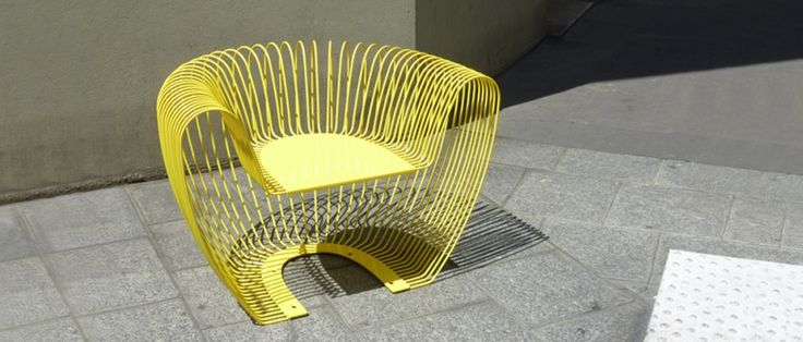 Bubble, urban furniture designed by Outsign agency