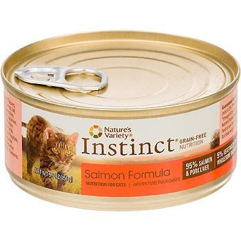 Natures Variety Instinct Salmon (Pack of 12) => Can't believe it's available, see it now : Best Cat Food