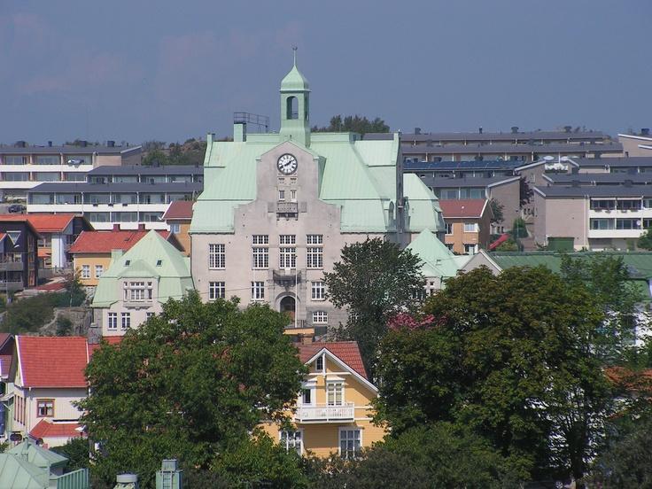 Sweden  Strömstads stadshus