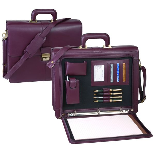 Royce Leather Legal Briefcase - Overstock™ Shopping - Great Deals on Royce Leather Briefcases