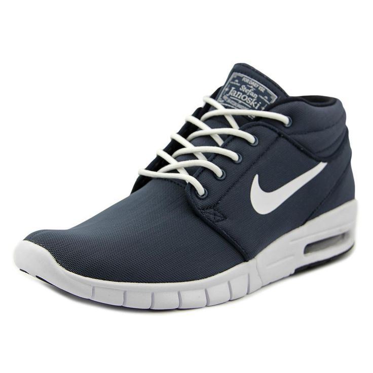 Work out in style with these Nike Men's 'Stefan Janoski Max Mid' Synthetic Athletic Shoes. These stylish basketball shoes are constructed from synthetic upper and man-made outsole and are available in