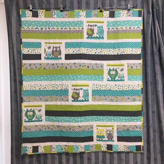 Cot Quilt by BlackCatCreationsAU on Etsy
