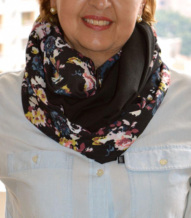 7 formas de usar una bufanda