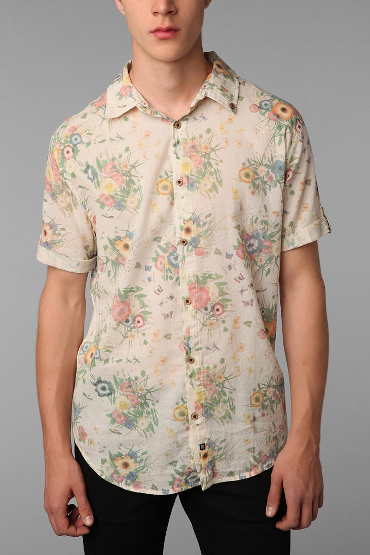 Insight- lovely for a vintage wedding, why cant the man wear nice things too!!!: Vintage Wedding, Patterns Shirts, Shirts Urbanoutfitt, Insight Niic, Floral Shirts, Dandy Floral, Insight Dandy, Floral For Boys, Floral Boys Shirts