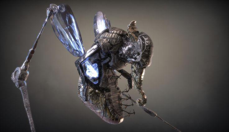 ArtStation - Old Robot Concept 2, Peter Mikielewicz