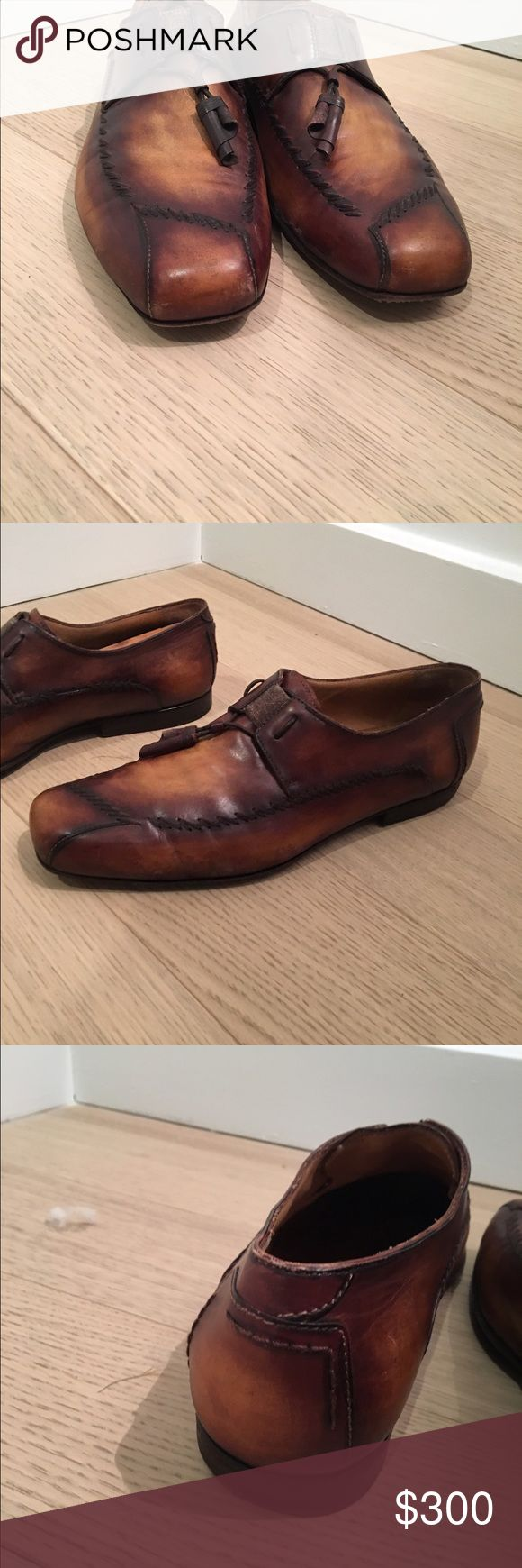 Men's dress loafer Custom Italian tassel loafer berluti Shoes Loafers & Slip-Ons