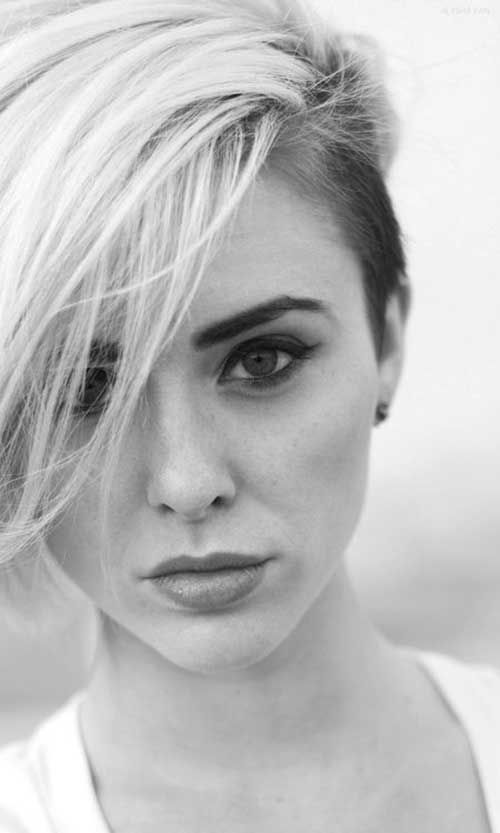35 Cute Short Hairstyles for Girls-30