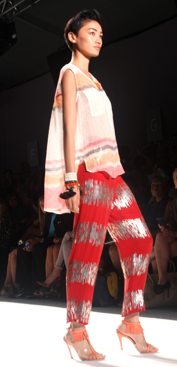 Mercedes Benz Fashion Week Spring 2013 - Tracy Reese