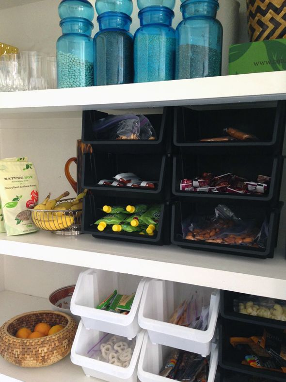 Snacks -- easy to grab and go!