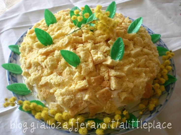 torta mimosa all'ananas a little place to rest