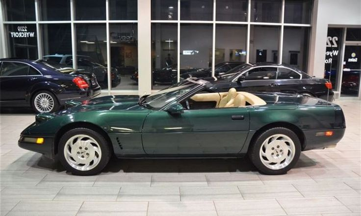 1995 chevrolet corvette convertible c4 immaculate shape
