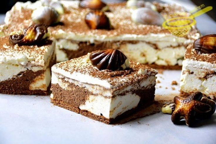 """ciasto """"Plaża"""" - BEZ PIECZENIA"""