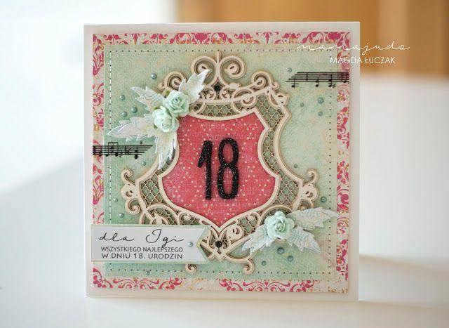 mamajudo kartka 18. urodziny Rosy Owl