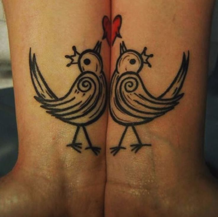 20 Unbelievably Romantic Couple Tattoos